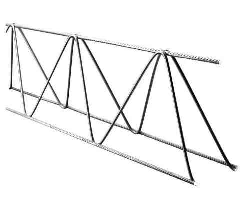 Treliça H12 (Ø 6Mm Superior/Ø 4.2Mm Diagonal/Ø 5Mm Inferior), Altura 12 Cm, Comprimento 6 Metros