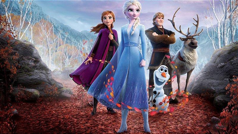 Painel Fotográfico Frozen - 2,10 Largura x 1,60 Altura