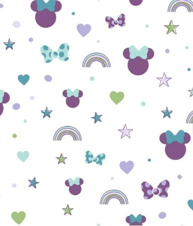 Papel de Parede Disney DI0990 - 0,53cm x 10m