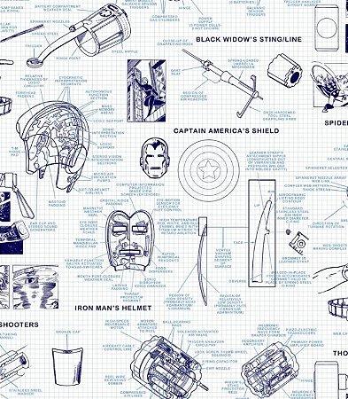 Papel de Parede Disney DI0935 - 0,53cm x 10m