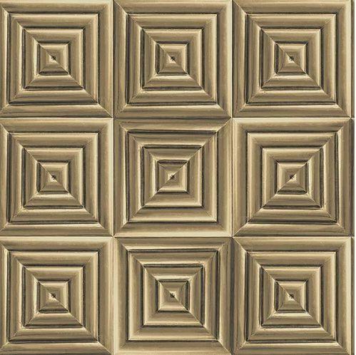 Papel de Parede Hexagone L44602 - 0,53cm x 10m