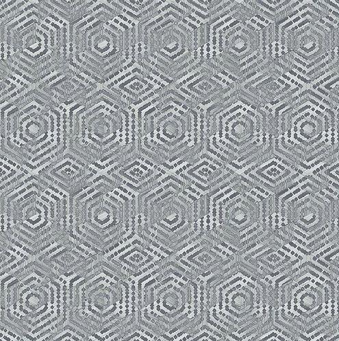 Papel de Parede Hexagone L606-09 - 0,53cm x 10m