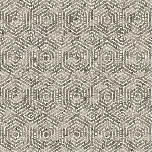 Papel de Parede Hexagone L606-08 - 0,53cm x 10m