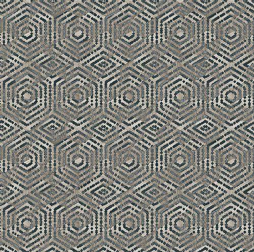Papel de Parede Hexagone L606-01 - 0,53cm x 10m