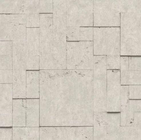 Papel de Parede Hexagone L589-08 - 0,53cm x 10m