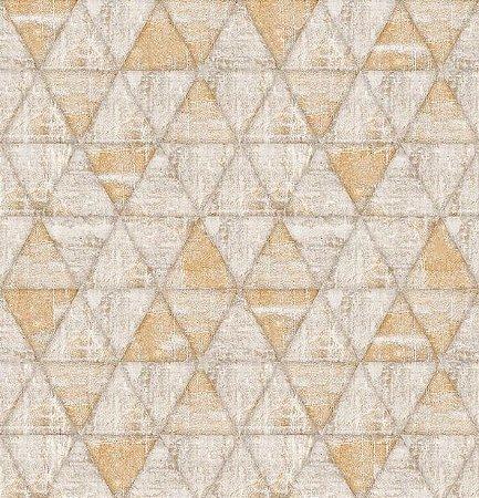 Papel de Parede Hexagone L617-08 - 0,53cm x 10m