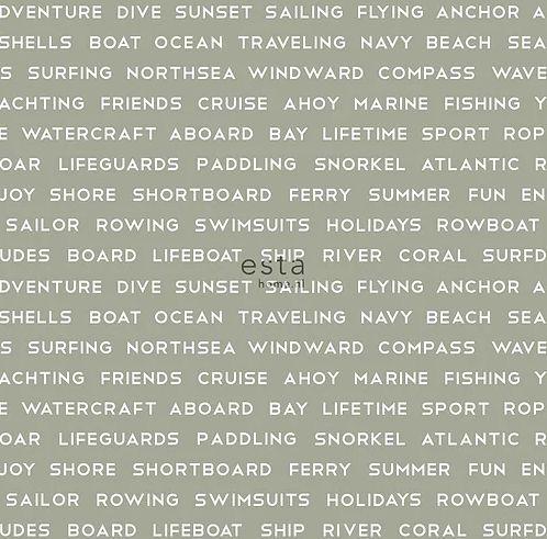 Papel de Parede Regatta Crew 138959 - 0,53cm x 10m