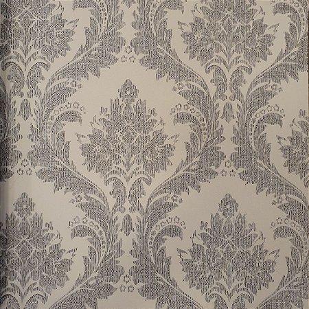 Papel De Parede Beautiful Home BH82501 Vinílico-0,53cm X 10m