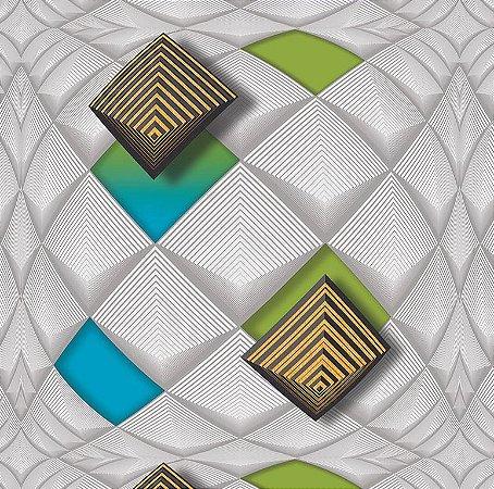 Papel de Parede Modern Art 881202 - 1,06m x 15,6m