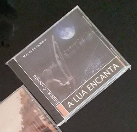 CD A Lua Encanta - Música de Capoeira