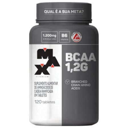 BCAA 1,2G pote com 120 Tabletes