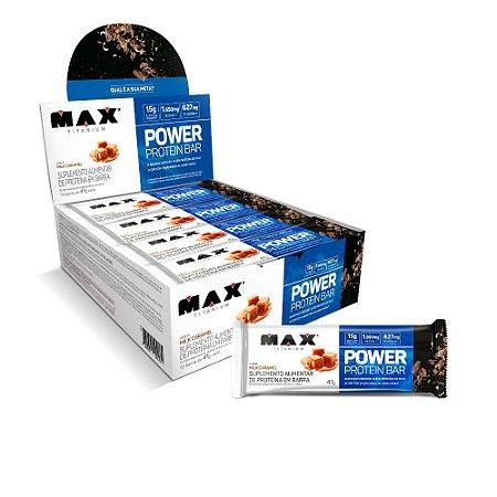 Power Protein Bar 12 Un De 41G - Milk Caramel