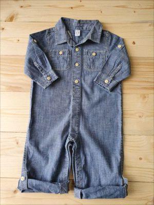 Macacão jeans - GAP 12-18 meses