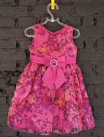 Vestido festa floral - Jayne 3 anos