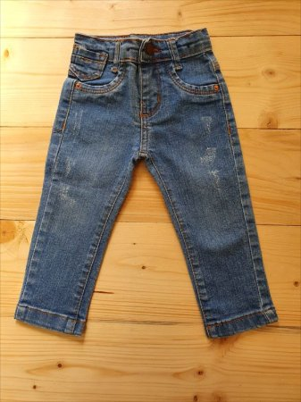 Calça jeans - Mariinha 9-12 meses