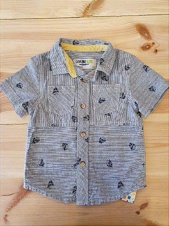 Camisa manga curta - Oshkosh 18 meses