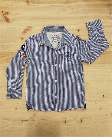 Camisa Social manga longa - 4 anos