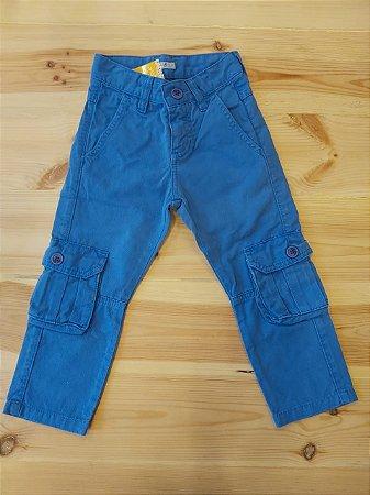 Calça jeans azul - Bebe Sucre 2 anos