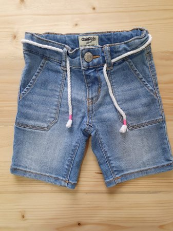 Bermuda jeans cordão - Oshkosh 2 anos
