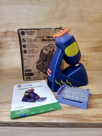 Brinquedo Talking Microscope - Geosafari JR