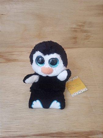 Brinquedo pelúcia pinguim pesinho