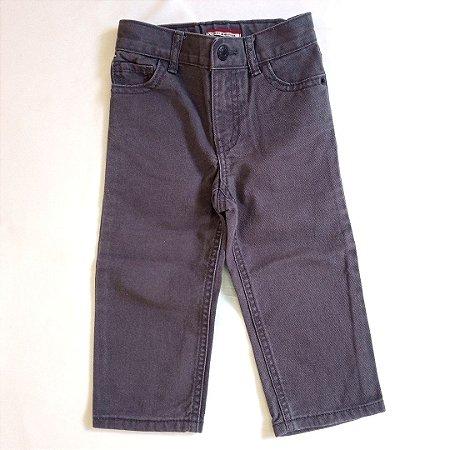 Calça jeans cinza chumbo - TommyHilfiger 18 meses