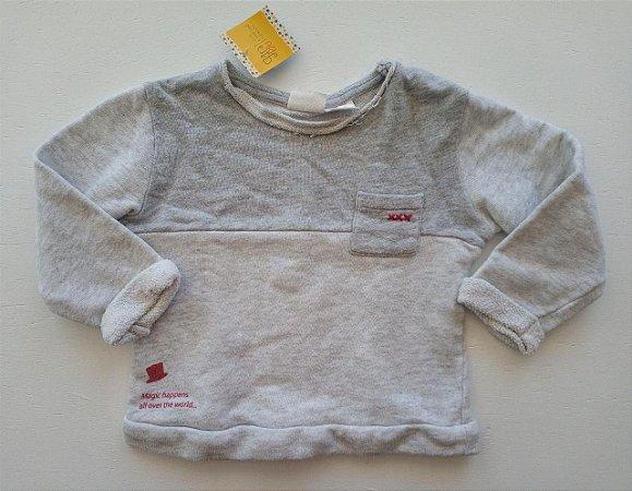 Casaco cinza - Zara 12-18 meses
