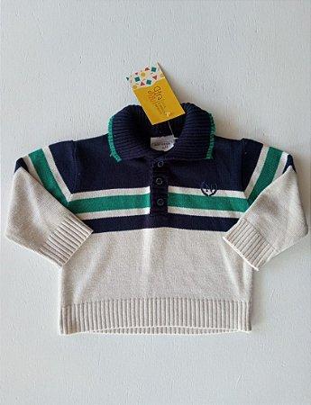 Casaco linha - Noruega Baby 6-9 meses
