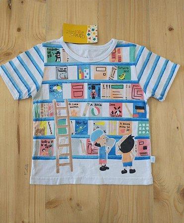 Camiseta manga curta - Alphabeto 2 anos