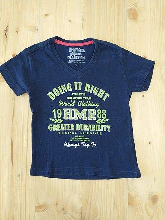 Camiseta manga curta - Hommer Numbers 2 anos