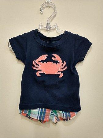 Conjunto camiseta + shorts - Carter's RN