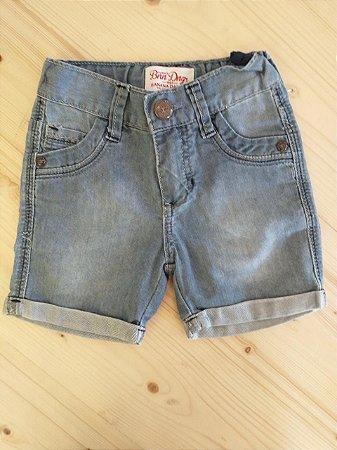 Shorts jeans claro - Banana Danger 12 meses