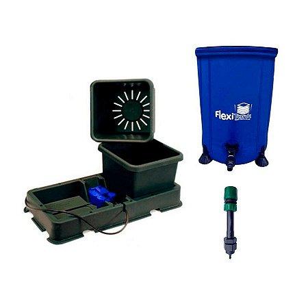 Kit Hidroponia Autopot Easy2grow 15L, flexi tank 25L e filtro adaptador