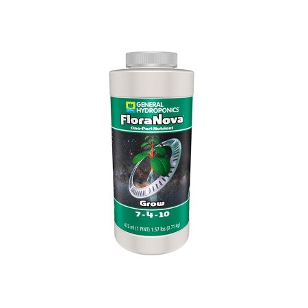 Fertilizante Floranova Grow 7-4-10 473ml - General Hydroponics