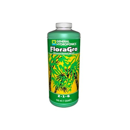 Fertilizante FloraGro 2-1-6 946ml - General Hydroponics