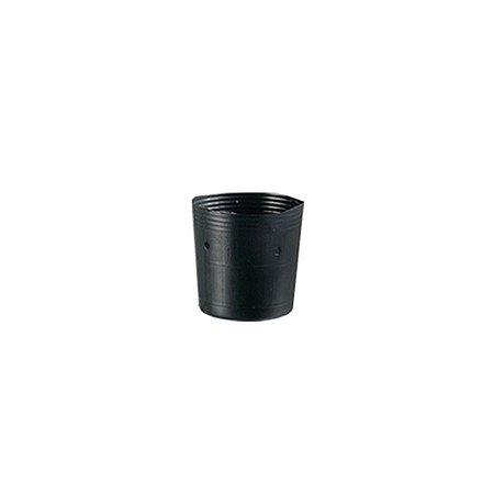 Vaso / Embalagem para muda 01 litro Preto - Nutriplan
