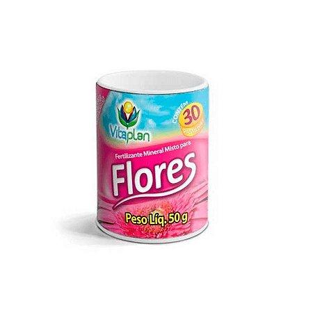 Fertilizante Pastilhas Flores – 50 g - Vitaplan