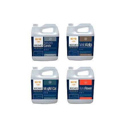 Kit Estimulante Remo Nutrients 4x1 Litro