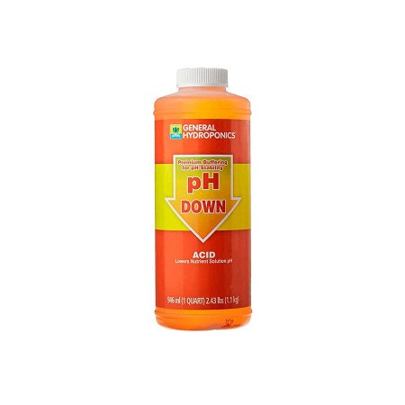 Ph Down 946ml  Regulador De Ph General Hydroponics