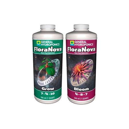 Kit FloraNova - Grow + Bloom 946ml - General Hydroponics