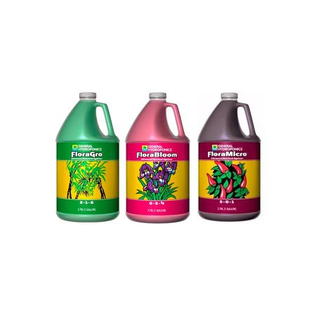 Kit Floraseries - Grow + Micro + Bloom 3,79L - General Hydroponics