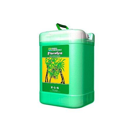 Fertilizante FloraGro 2-1-6 22,7 litros - General Hydroponics