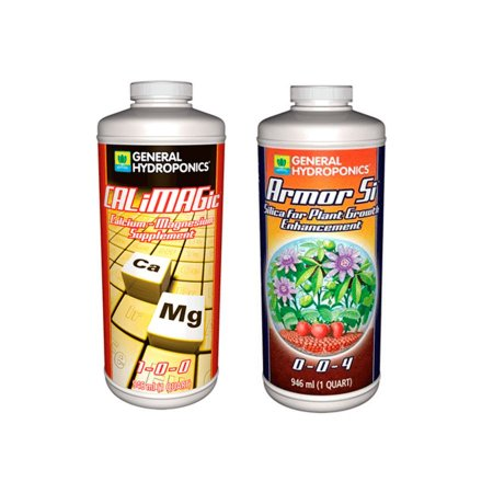 Kit Saúde e Vigor - Calimagic 946ml + Armor Si 946ml - General Hydroponics