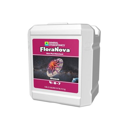 Fertilizante Liquido Floranova Bloom 4-8-7 9,47L - General Hydroponics
