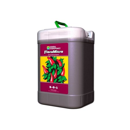 Fertilizante FloraMicro 5-0-1 22,7L - General Hydroponics