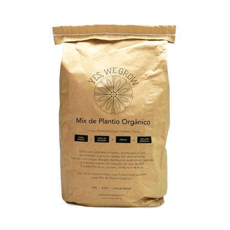 Mix de Plantio Orgânico 10L - Yes, We Grow