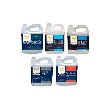 Kit Supercharged Remo Nutrients 5x1 Litro Ph Perfeito