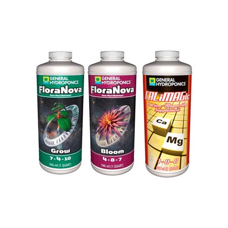 Kit FloraNova BASIC 3x946ml - General Hydroponics