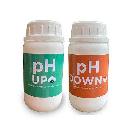 Kit pH Up e Down - GrowFert