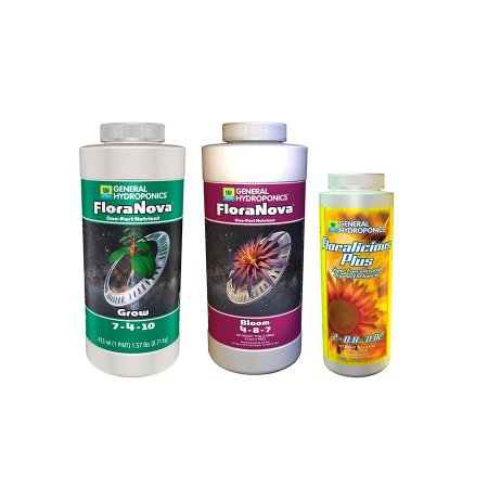 Kit FloraNova + Floralicious Plus - General Hydroponics